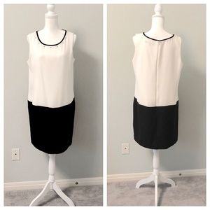 NWOT Marc NY Sleeveless Colorblock Dress - Sz 12